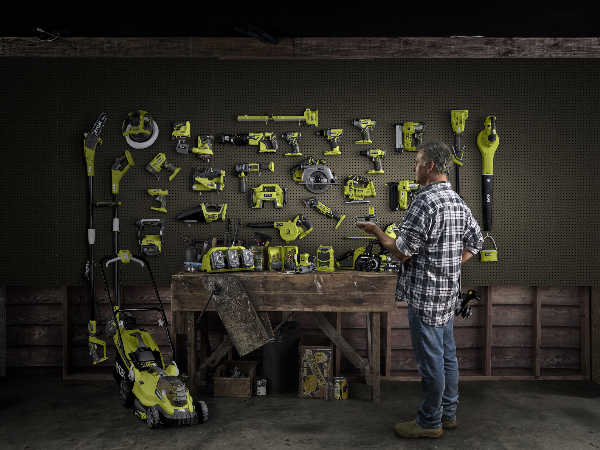 Ryobi one plus you layered